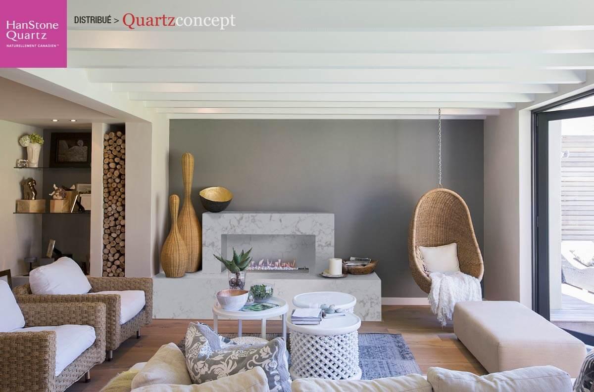 Quartz HanStone couleur monterey