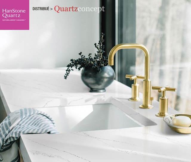 Quartz HanStone couleur tranquility