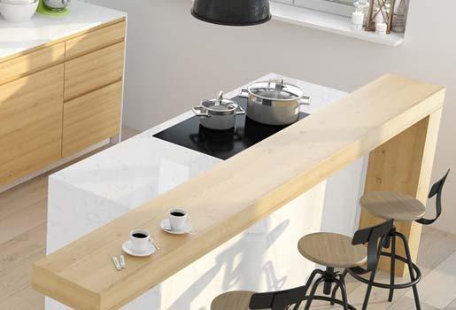 Comptoir de cuisine en Quartz Radianz