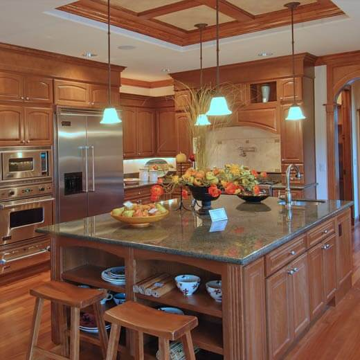 Comptoir de cuisine en Granite