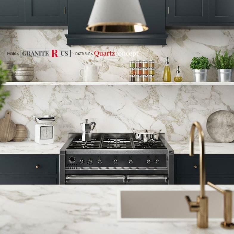 Comptoir de cuisine en granite R US