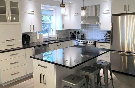 Comptoir de cuisine en Quartz Concept