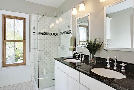 comptoir de salle de bain en granite Prestale