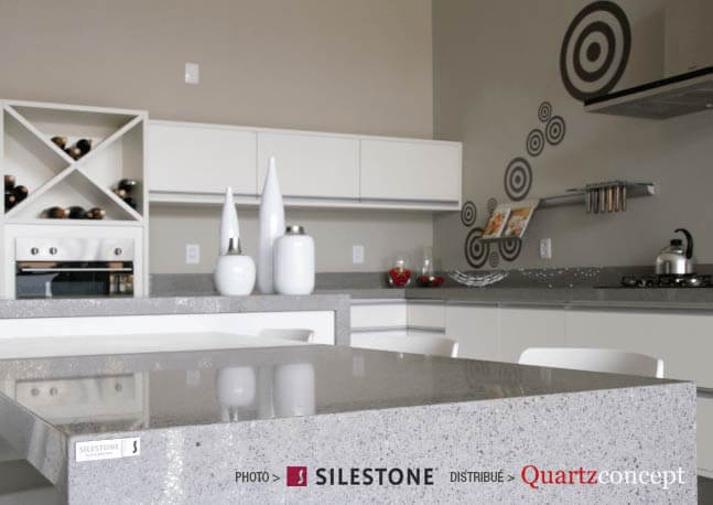 comptoir quartz Silestone - Cuisine Nordic