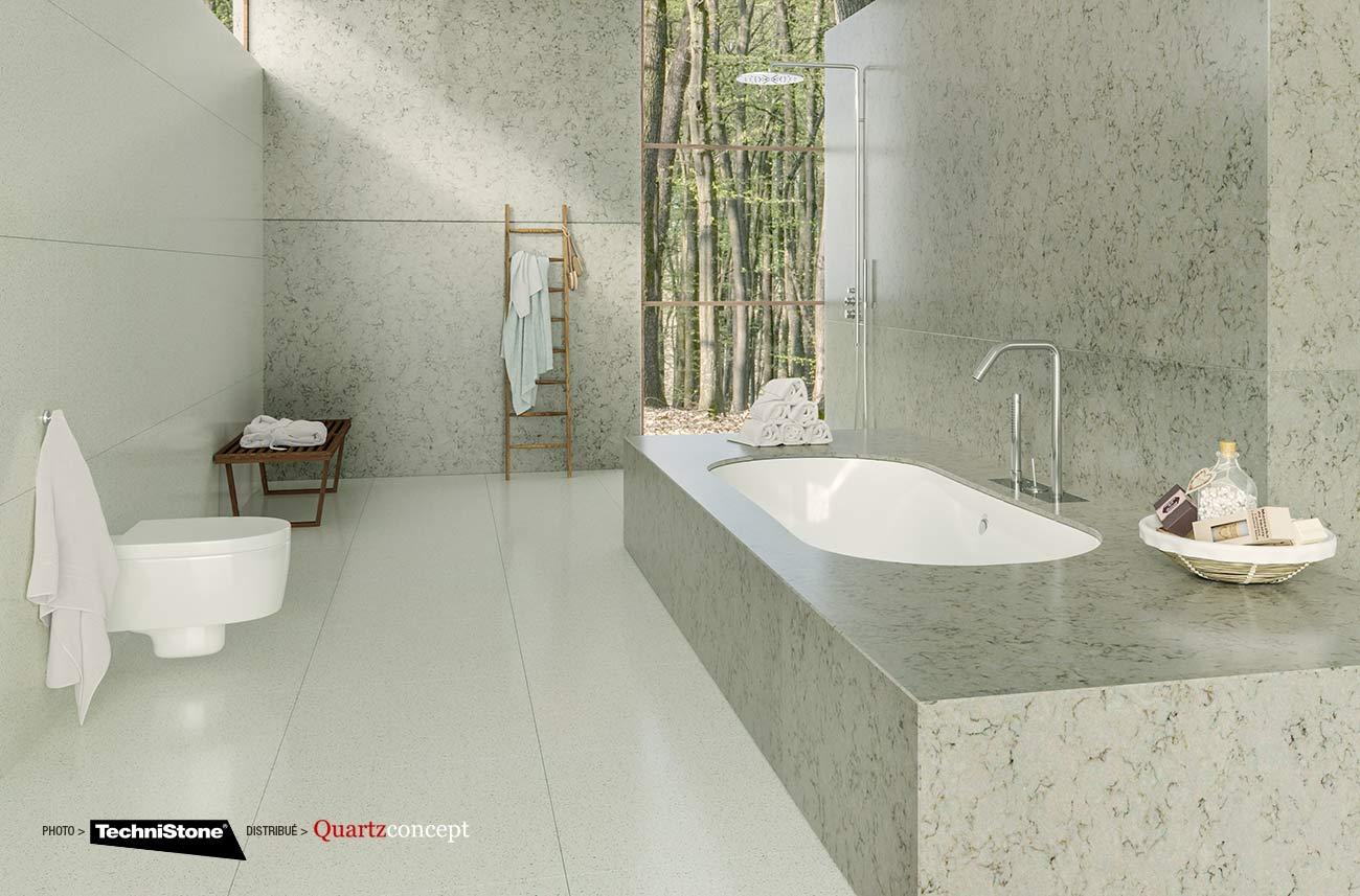 couleur-Cloudy-Onyx Quartz Technistone | Comptoir de cuisine et salle de bain