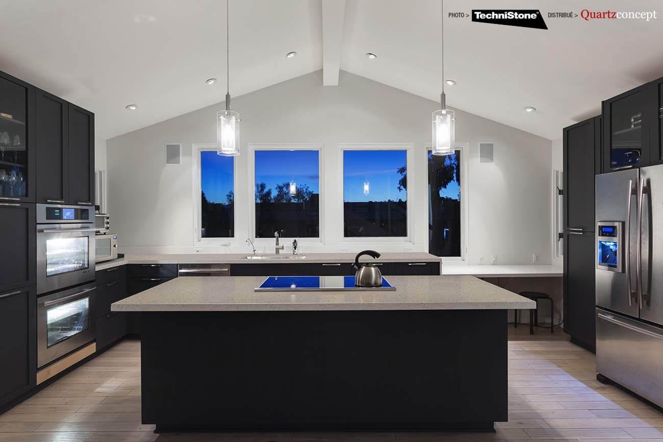 couleur-Elegance-Eco-Z Quartz Technistone | Comptoir de cuisine et salle de bain