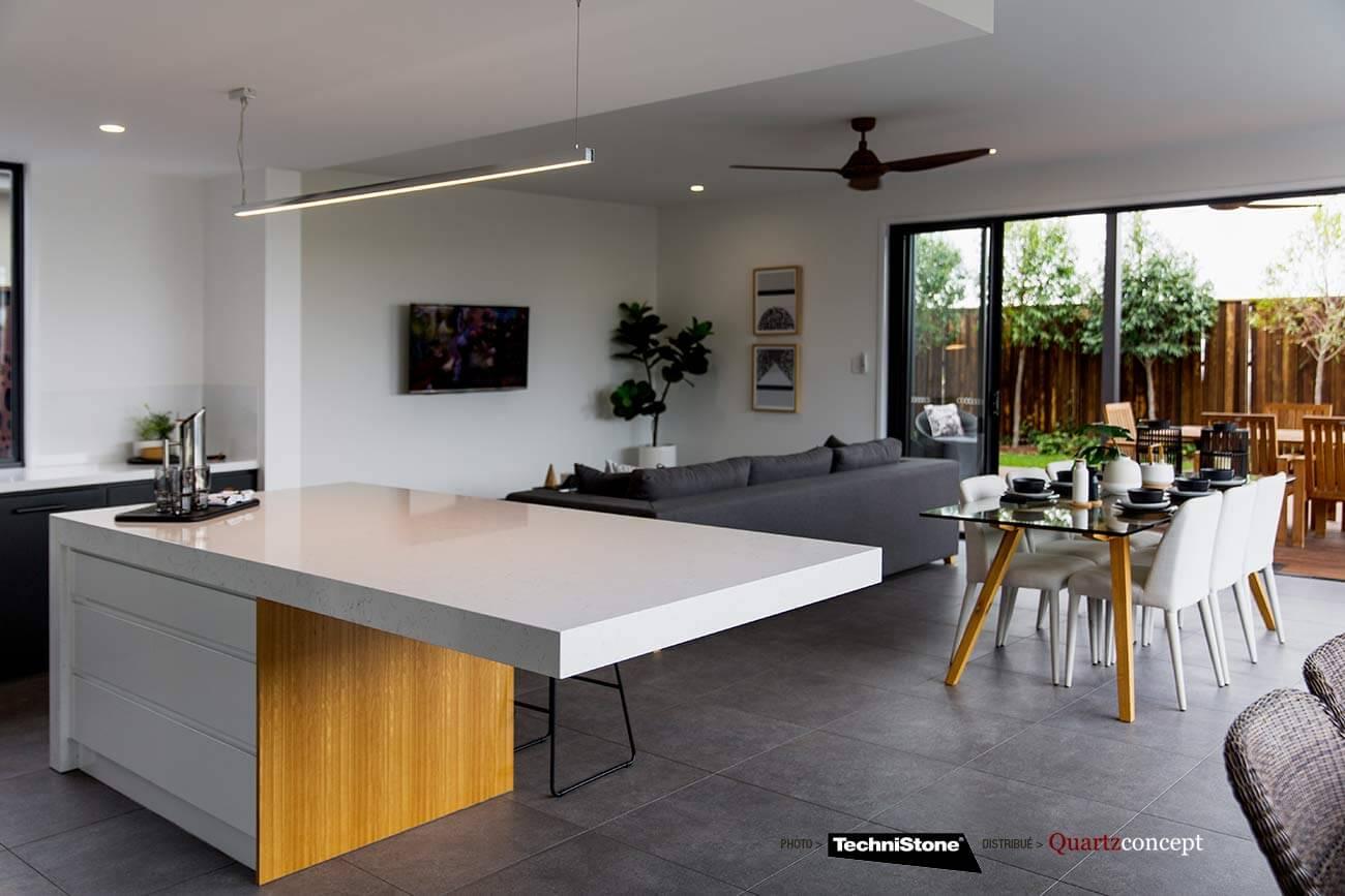 couleur-Jana-Zemanova Quartz Technistone | Comptoir de cuisine et salle de bain