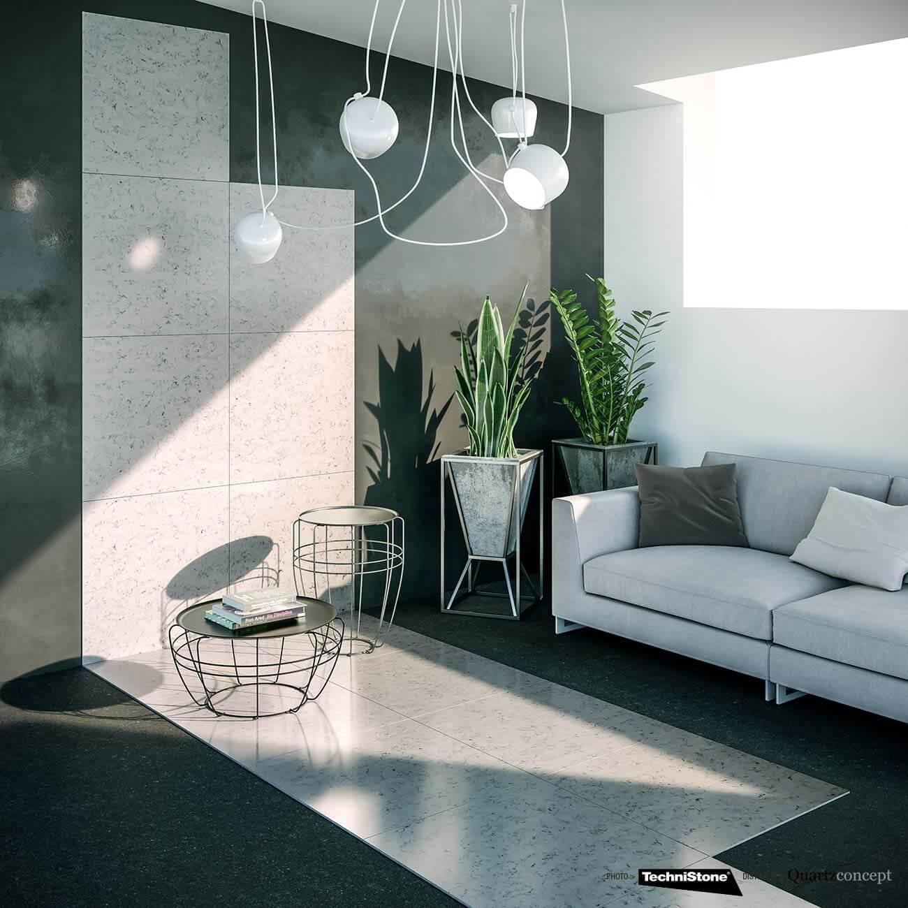 couleur-Noble-Brilliant Quartz Technistone | Comptoir de cuisine et salle de bain