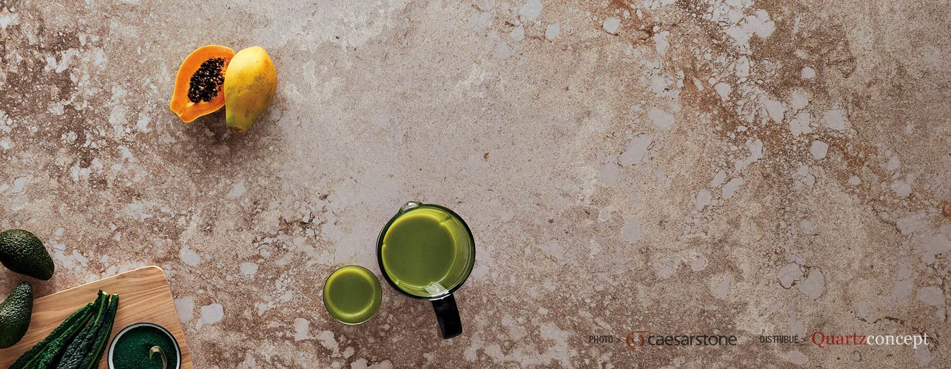 Quartz Caesarstone couleur 4046 excava