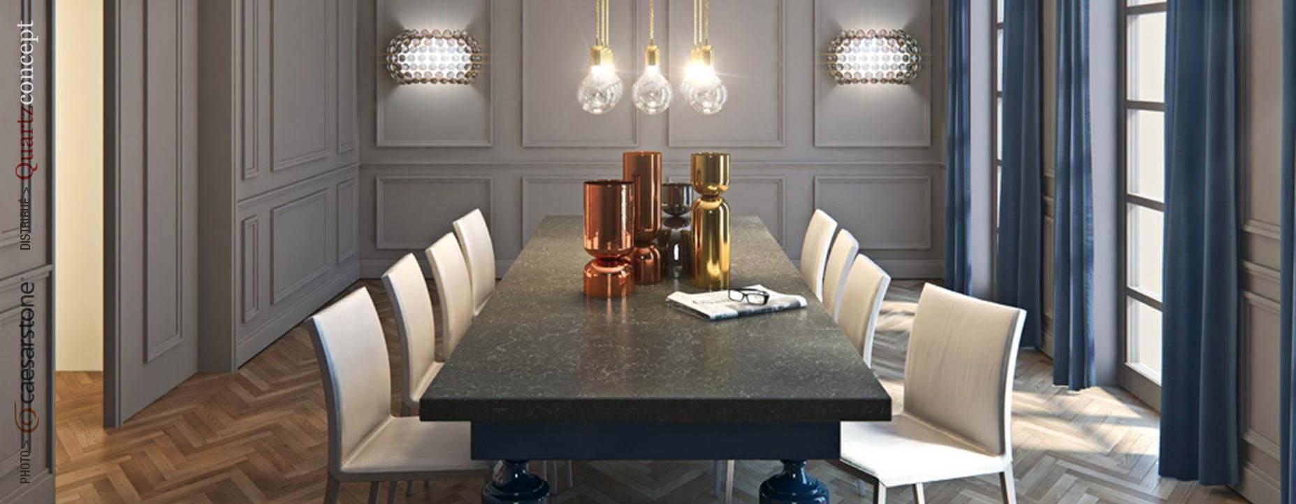 Quartz Caesarstone couleur 5003 piatra grey