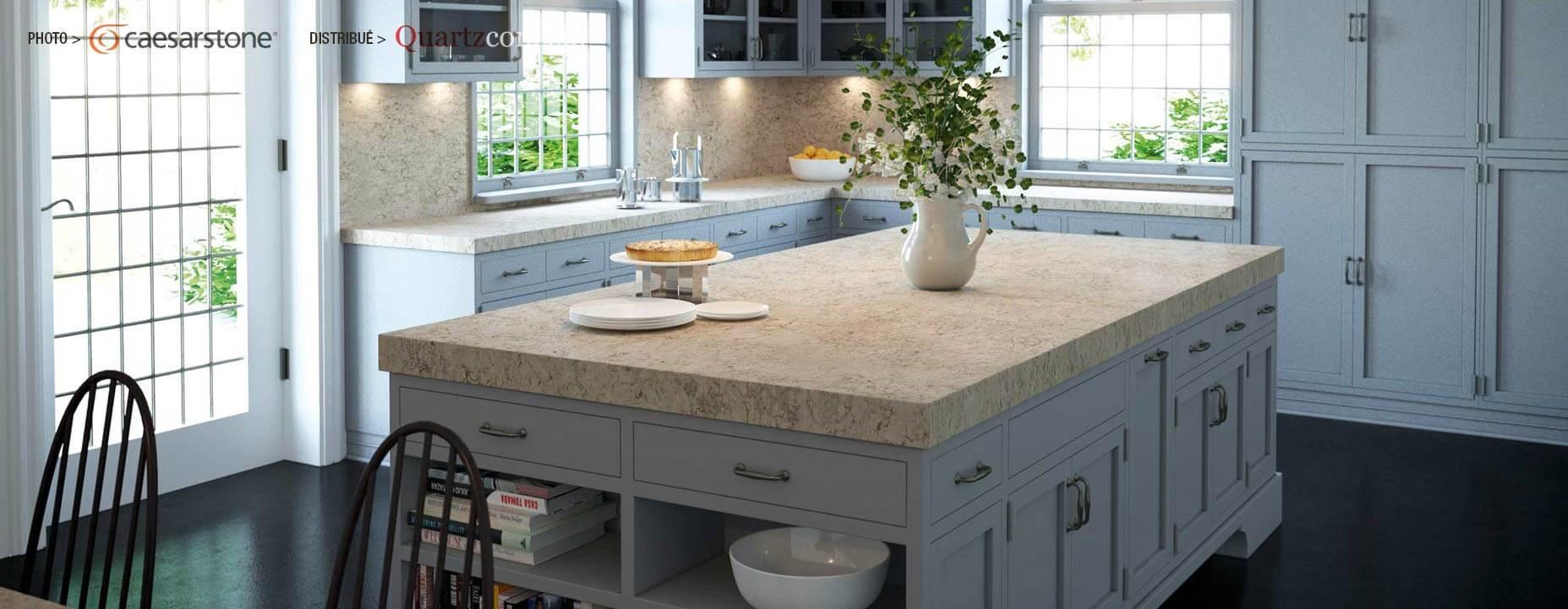Quartz Caesarstone couleur 6616 cascata