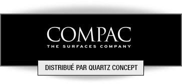 Quartz Compac comptoir de cuisine