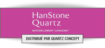 Quartz HanStone comptoir de cuisine