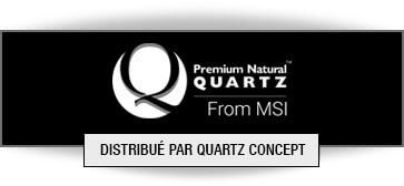 Quartz MSI comptoir de cuisine