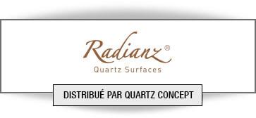 Quartz Radianz comptoir de cuisine