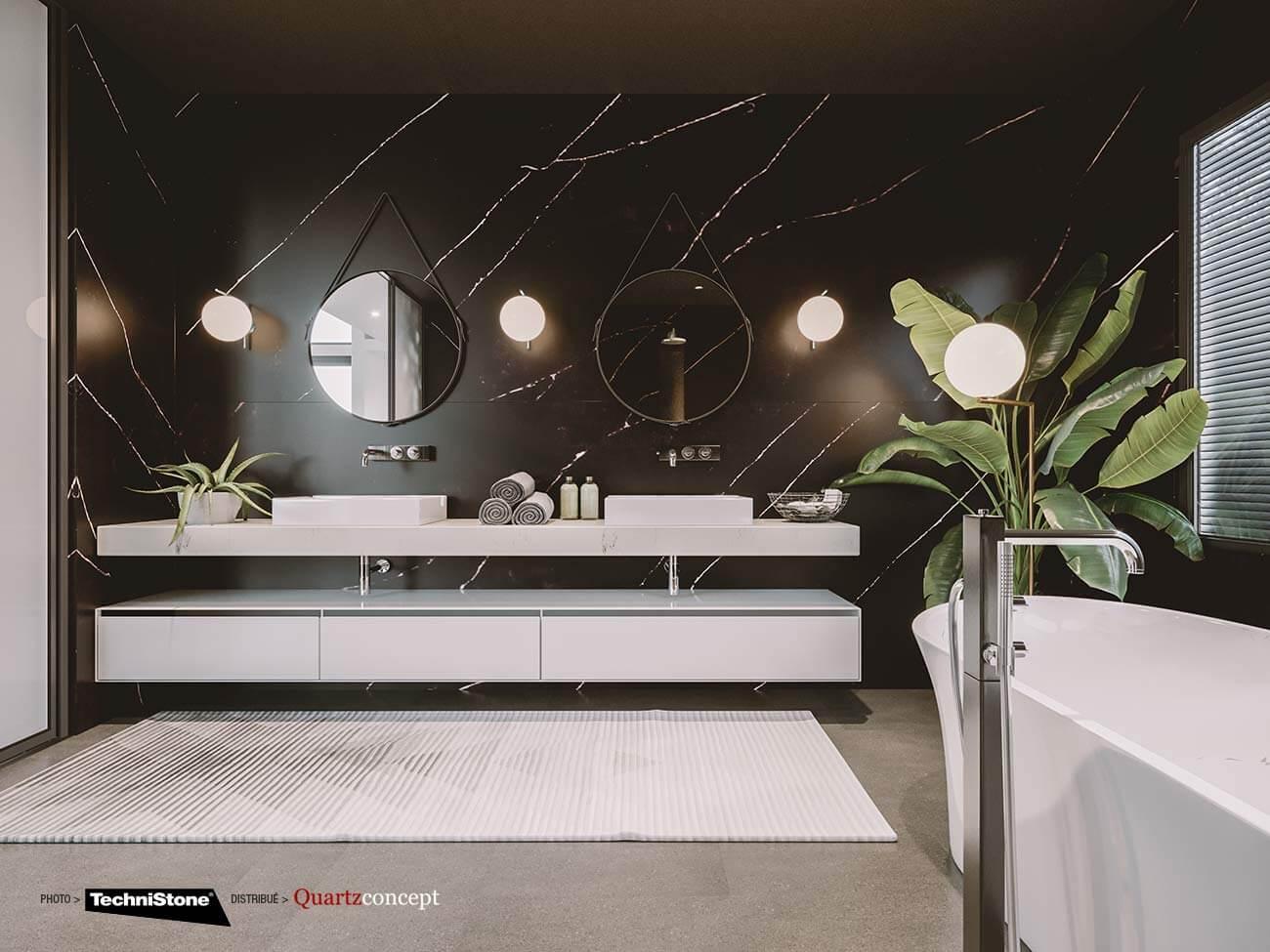 Quartz Technistone | Comptoir de cuisine et salle de bain