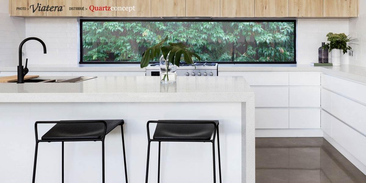 Comptoir de Quartz Viatera Celetest
