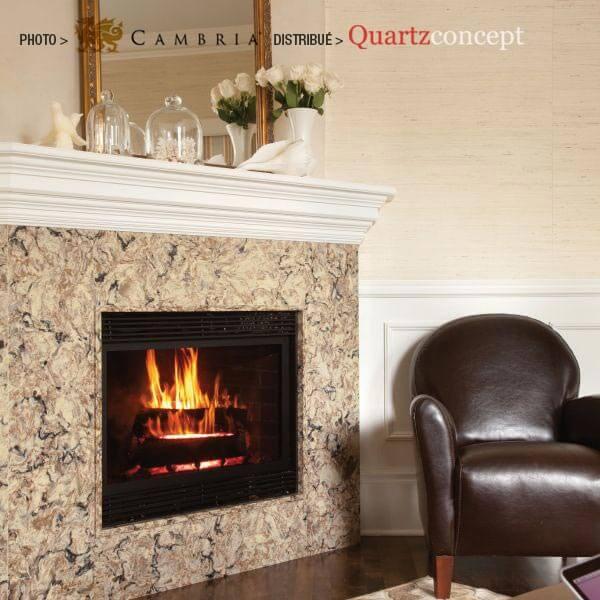 bradshaw Quartz Cambria | comptoir de cuisine | Lanaudière et Rive-Nord de Mtl