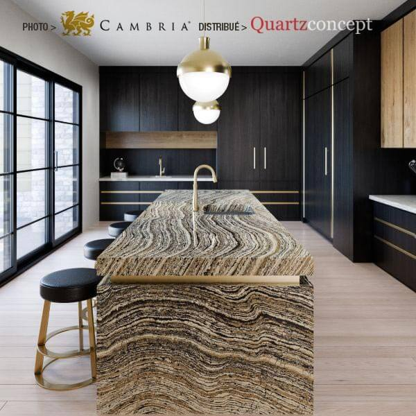 clairidge Quartz Cambria | comptoir de cuisine | Lanaudière et Rive-Nord de Mtl