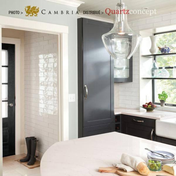 ella Quartz Cambria | comptoir de cuisine | Lanaudière et Rive-Nord de Mtl