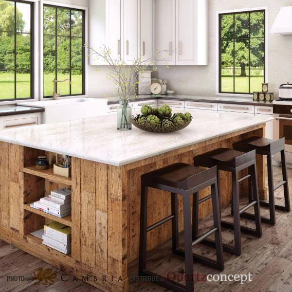 ironsbridge Quartz Cambria | comptoir de cuisine | Lanaudière et Rive-Nord de Mtl