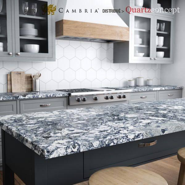 islington Quartz Cambria | comptoir de cuisine | Lanaudière et Rive-Nord de Mtl