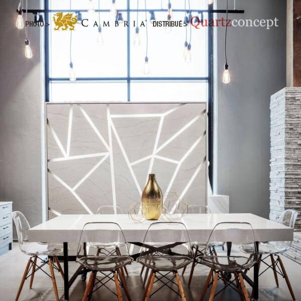 newport Quartz Cambria | comptoir de cuisine