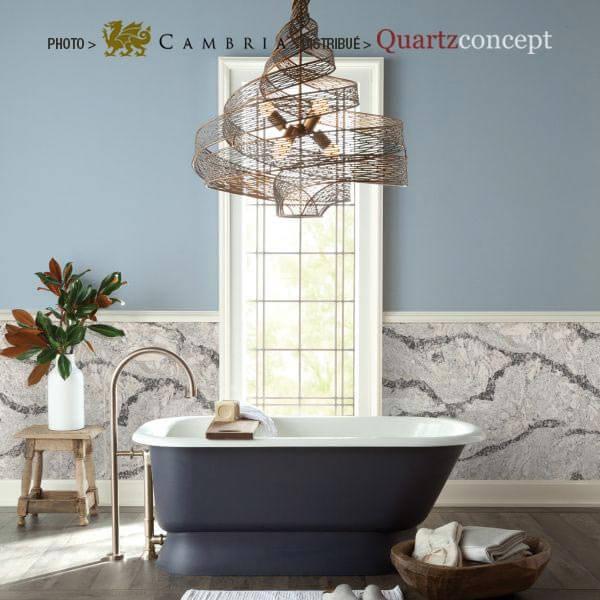 seagrove Quartz Cambria | comptoir de cuisine | Repentigny, Mascouche, Terrebonne