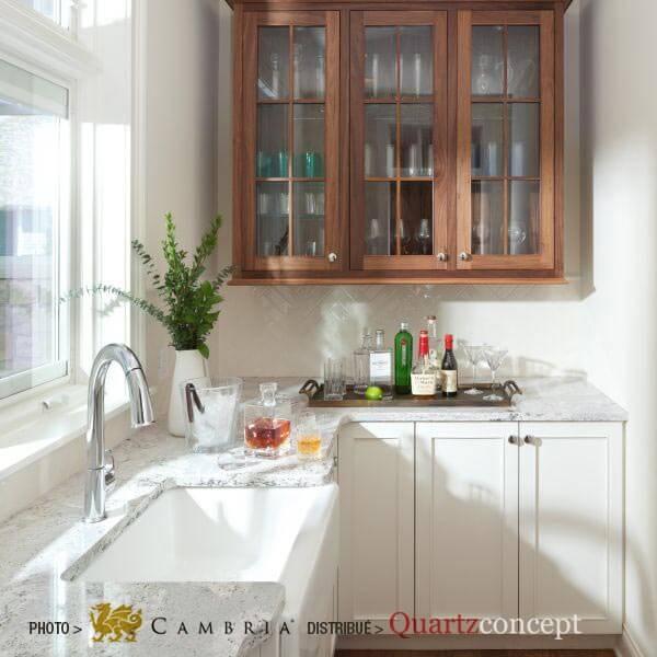 summerhill Quartz Cambria | comptoir de cuisine | Repentigny, Mascouche, Terrebonne