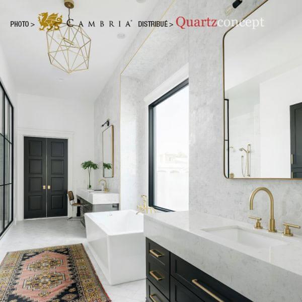 swanbridge Quartz Cambria | comptoir de cuisine | Repentigny, Mascouche, Terrebonne