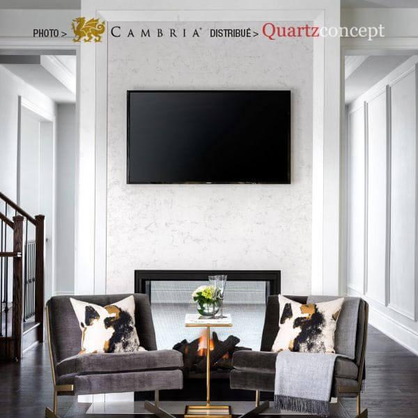 torquay Quartz Cambria | comptoir de cuisine | L'assomption, Blainville, Mirabel