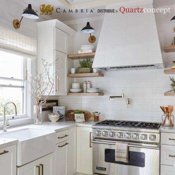 tradhome Quartz Cambria | comptoir de cuisine | L'assomption, Blainville, Mirabel