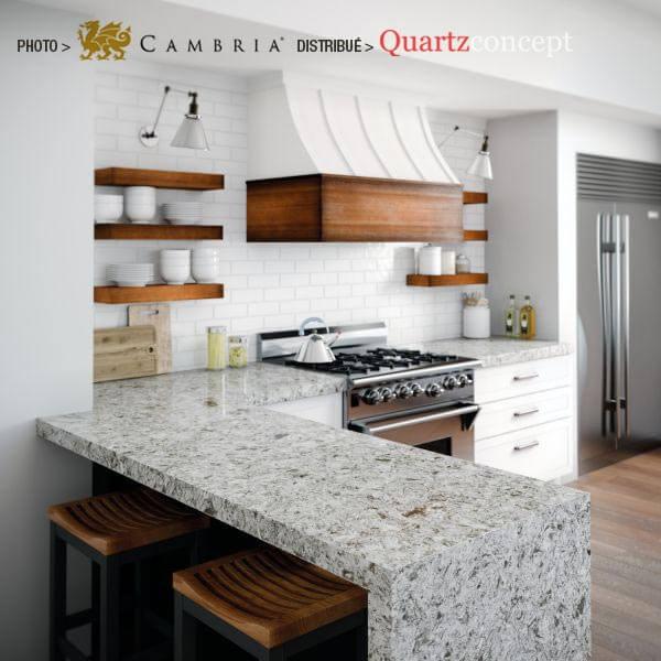 wisley Quartz Cambria | comptoir de cuisine | L'assomption, Blainville, Mirabel